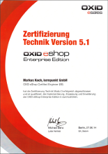Oxid Certified Developer EE